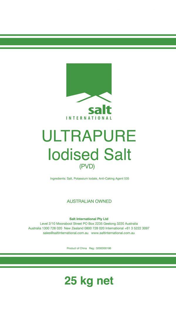 Ulltrapure Iodised Salt Bag