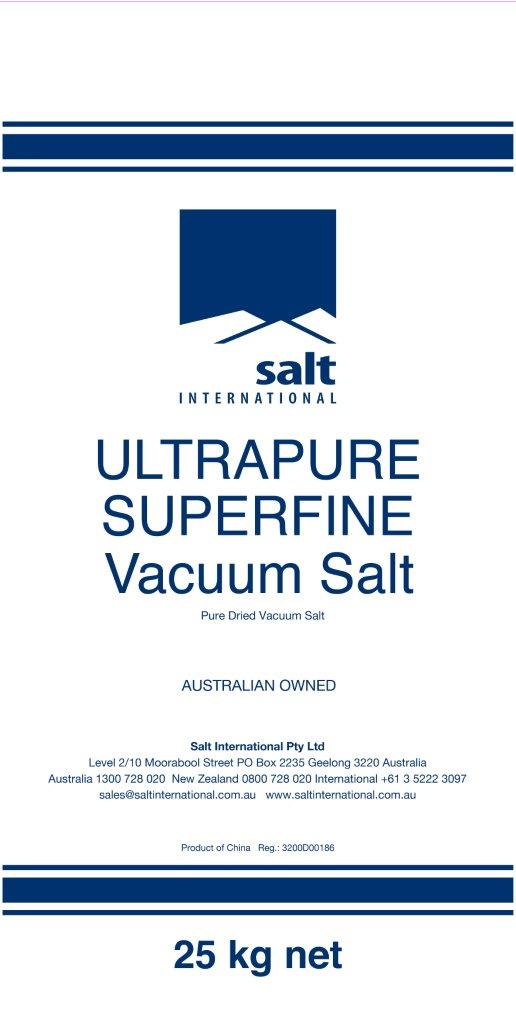 Ultrapure Superfine Vacuum Salt Bag - Small